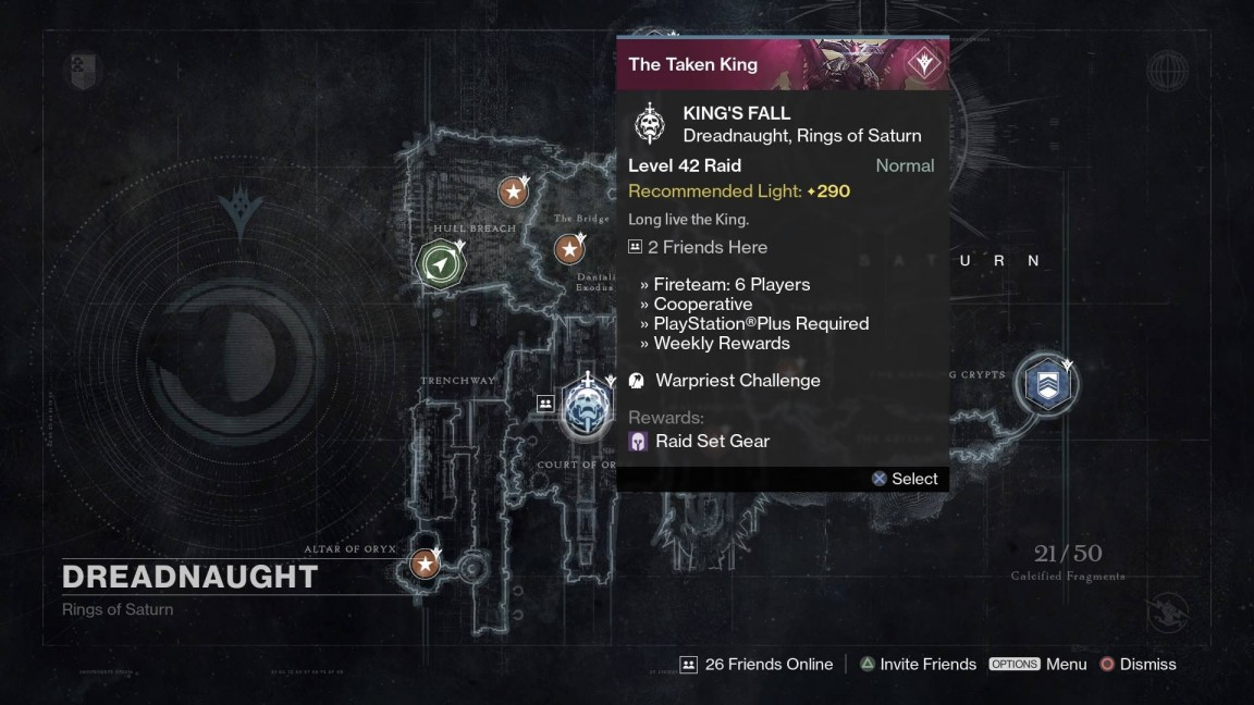 Destiny prison of elders level 32 matchmaking