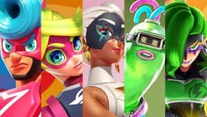 all arms characters unlocked